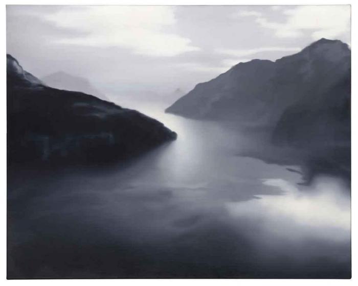 Gerhard Richter-Vierwaldstatter See (Lake Lucerne)-1969