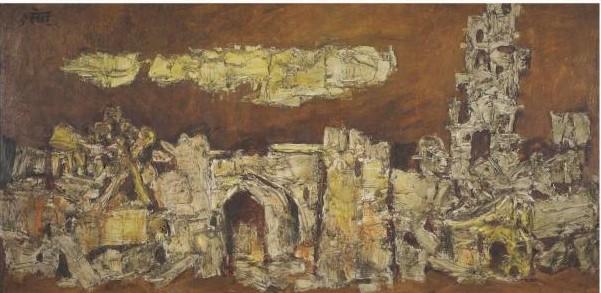 Maqbool Fida Husain-Untitled-1964