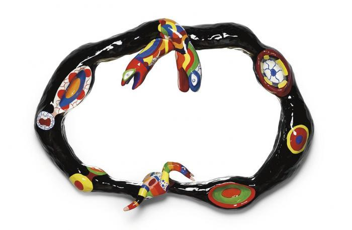 Niki de Saint Phalle-Le Miroir-1980