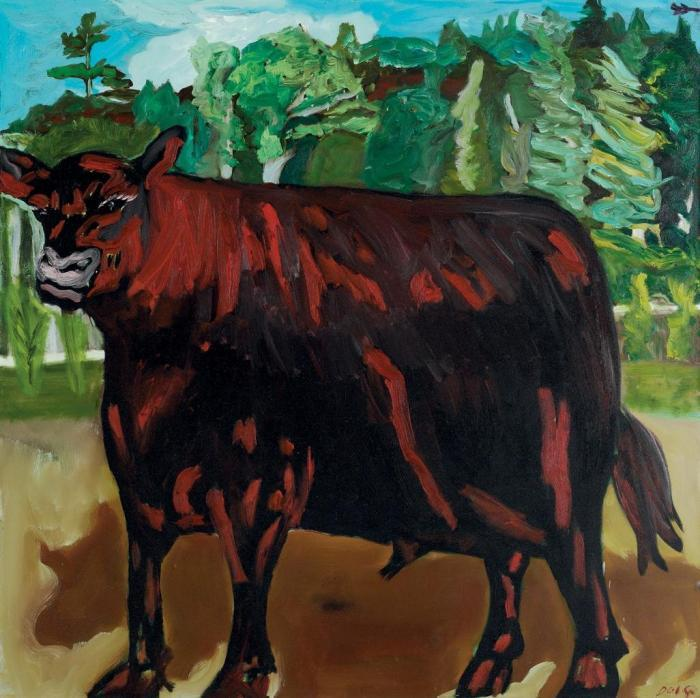 Peter Doig-Bull-1986