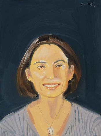 Alex Katz-Ahn Smiles-1994