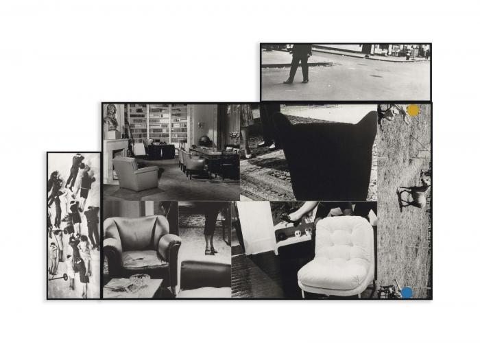 John Baldessari-Various Chairs-1986