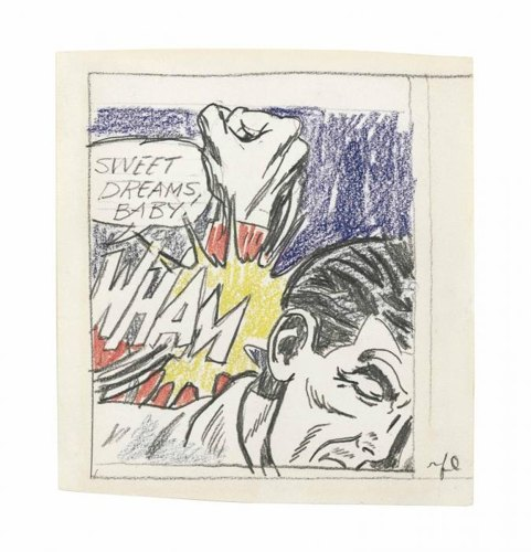 Roy Lichtenstein-Sweet Dreams, Baby! (Study)-1965