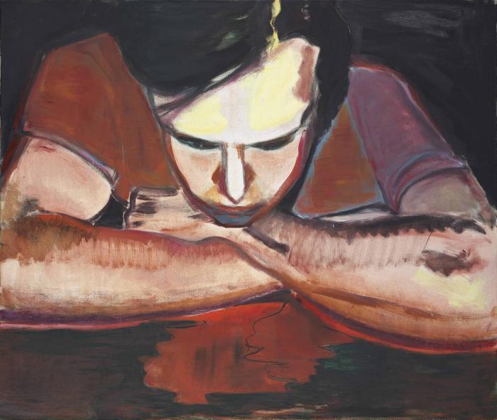 Marlene Dumas-Wet Dreams-1987