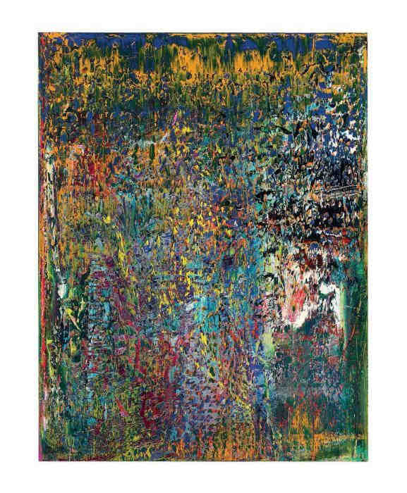 Gerhard Richter-Abstraktes Bild 709 (Abstract Painting 709)-1989