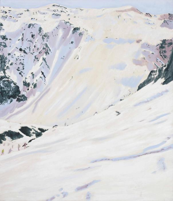 Peter Doig-Tour de Charvet-1995