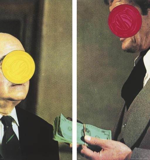 John Baldessari-Money, with Space Between-1994
