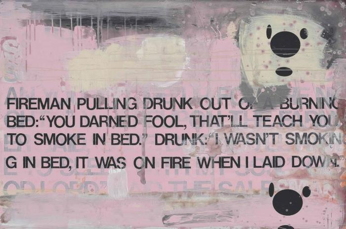Richard Prince-Untitled (Fireman And Drunk)-2001