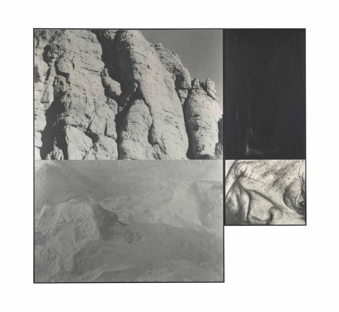 John Baldessari-Landscape with Face-1988
