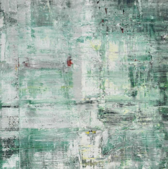 Gerhard Richter-Cage Grid (Single Part E)-2011