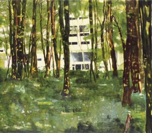 Peter Doig-Concrete Cabin-1996