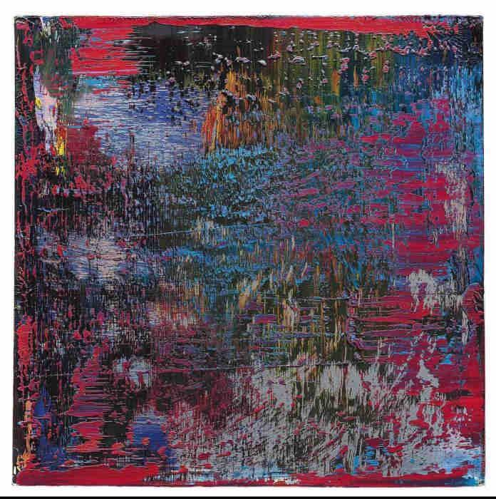 Gerhard Richter-Abstraktes Bild 654-2 (Abstract Painting 654-2)-1988