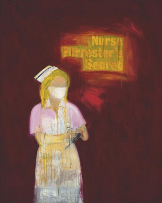 Richard Prince-Nurse Forrester's Secret-2003