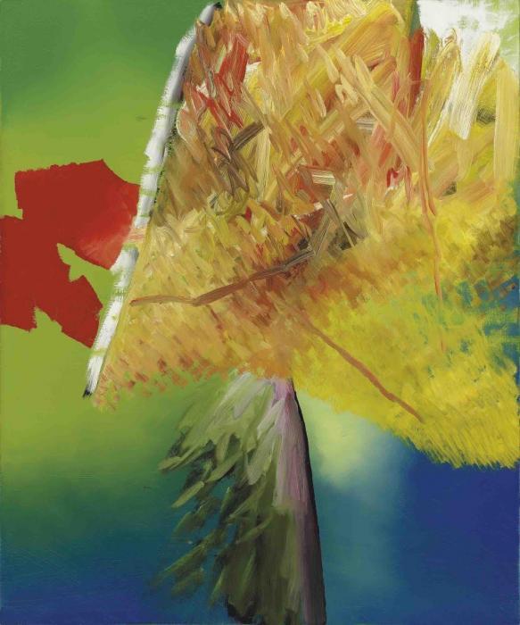 Gerhard Richter-Sumpf (Marsh)-1983