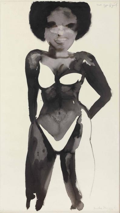 Marlene Dumas-That Type of Girl-1998