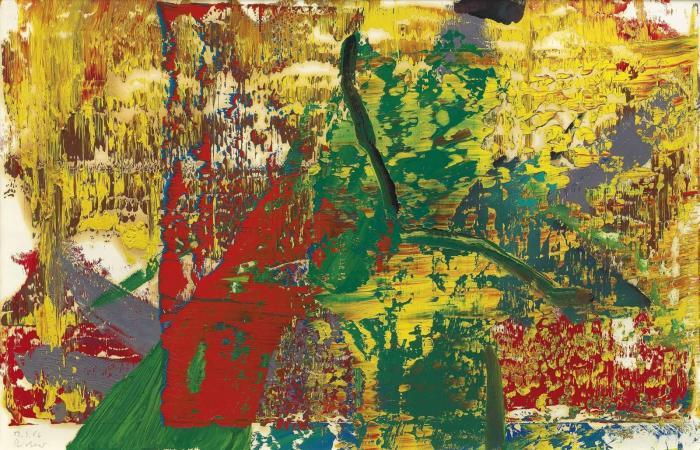 Gerhard Richter-Ohne Titel (19.3.86) / Untitled (19.3.86)-1986