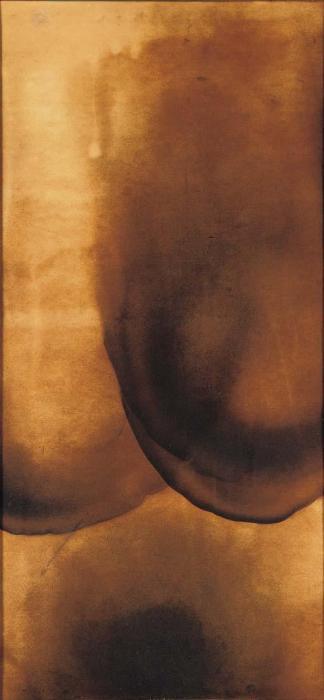 Yves Klein-Tableau de feu (F123)-1961