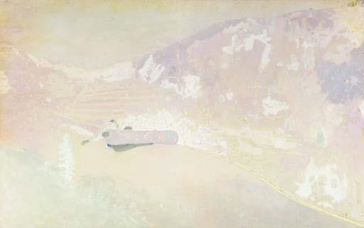 Peter Doig-Pink Mountain-1996