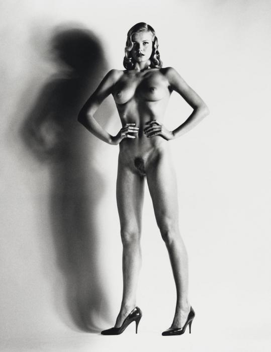 Helmut Newton-Big Nude XIV, Nice (1993)-1993