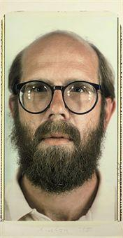 Chuck Close-Self-Portrait-1980