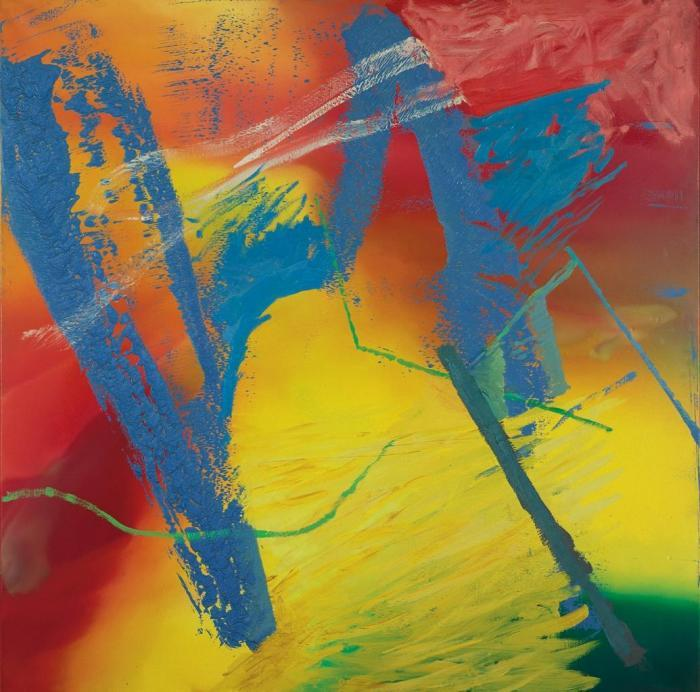 Gerhard Richter-Abstraktes Bild 477-2 (Abstract Painting 477-2)-1981