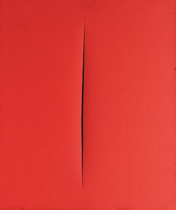 Lucio Fontana-Concetto spaziale, Attesa-1965
