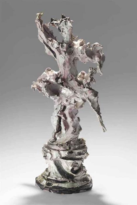 Lucio Fontana-Ballerina-1952