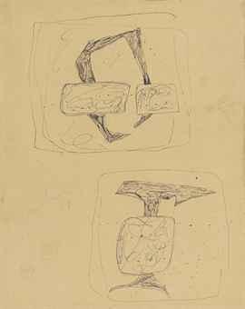Lucio Fontana-Untitled-1958