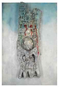 Niki de Saint Phalle-Cathedrale (Tour de Babel/La Tour)-1962