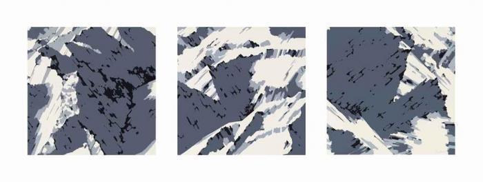 Gerhard Richter-Schweizer Alpen I-1969