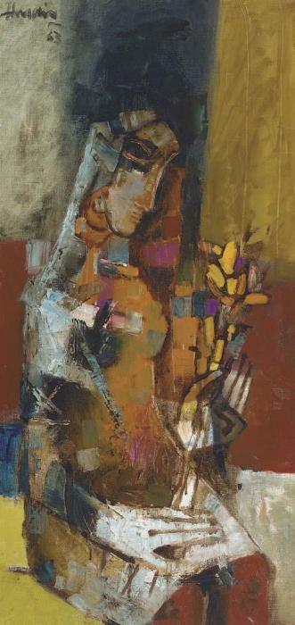 Maqbool Fida Husain-Untitled-1963