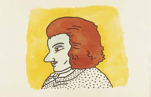 Keith Haring-Keith Haring - Wolfgang Amadeus Mozart-1985
