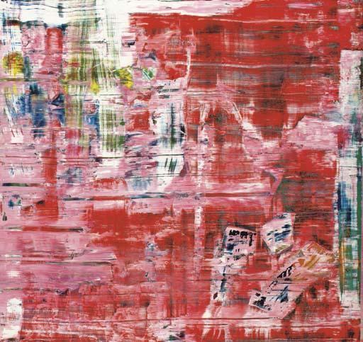 Gerhard Richter-Abstraktes Bild 746-4 (Abstract Painting 746-4)-1991