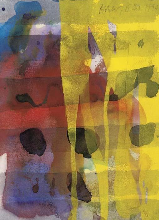 Gerhard Richter-Ohne Titel (15.3.90) / Untitled (15.3.90)-1990