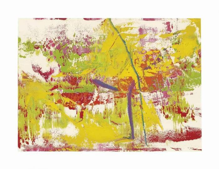 Gerhard Richter-Ohne Titel (13.4.86) / Untitled (13.4.86)-1986