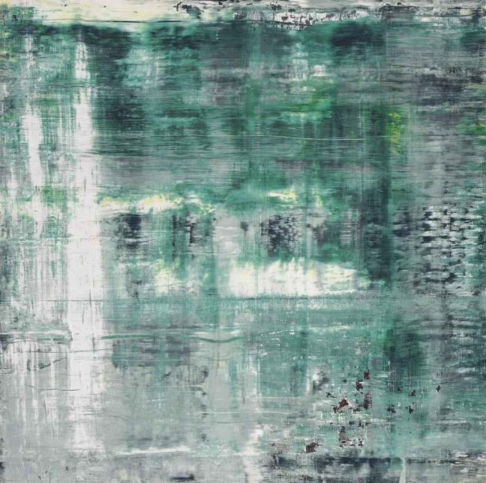 Gerhard Richter-Cage Grid (Single Part A)-2011