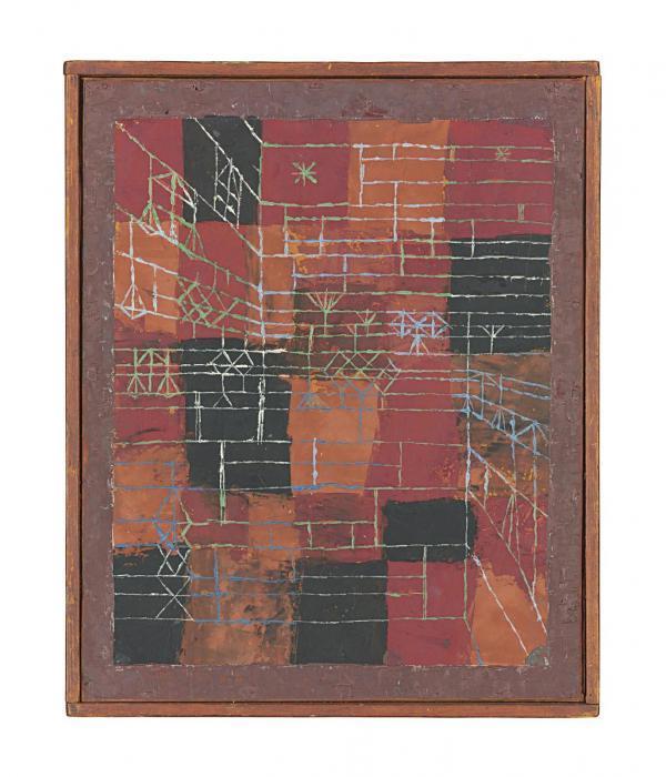Paul Klee-Perspektive Figuration-1925