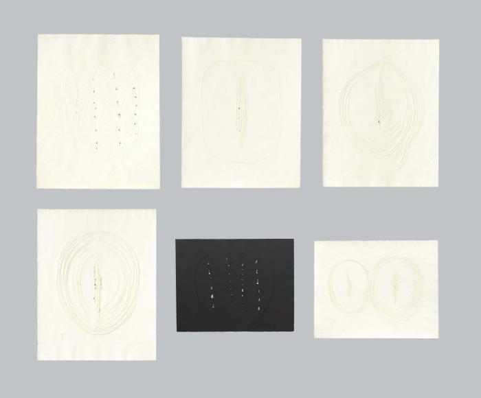 Lucio Fontana-Sei acqueforti originali di Lucio Fontana-1964