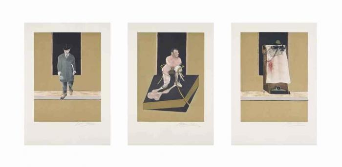 Francis Bacon-Triptych 1986-1987 (S. 6)-1987