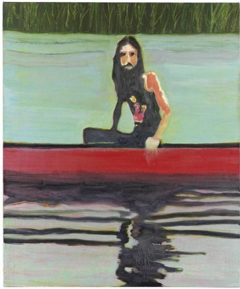 Peter Doig-Red Canoe-2000