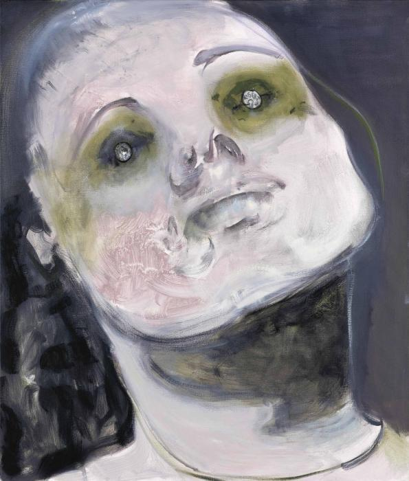 Marlene Dumas-In God We Trust (Paying the Ferry Man)-2008