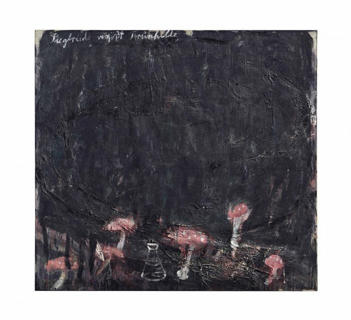 Anselm Kiefer-Siegfried Vergisst Brunhilde (Siegfried Forgets Brunhilde)-1975