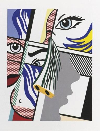 Roy Lichtenstein-Modern Art II-1996