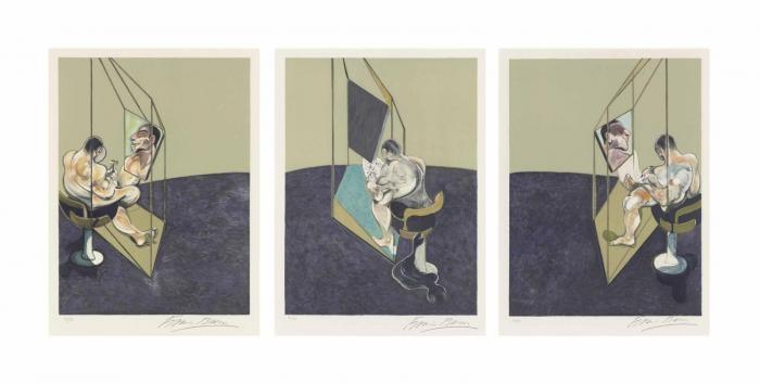 Francis Bacon-Studies of the Male Back-1987