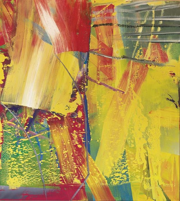 Gerhard Richter-Kerzenschein (Candle-light)-1984