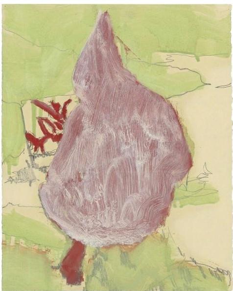Peter Doig-Figure in Mountain Landscape (Study)-1998