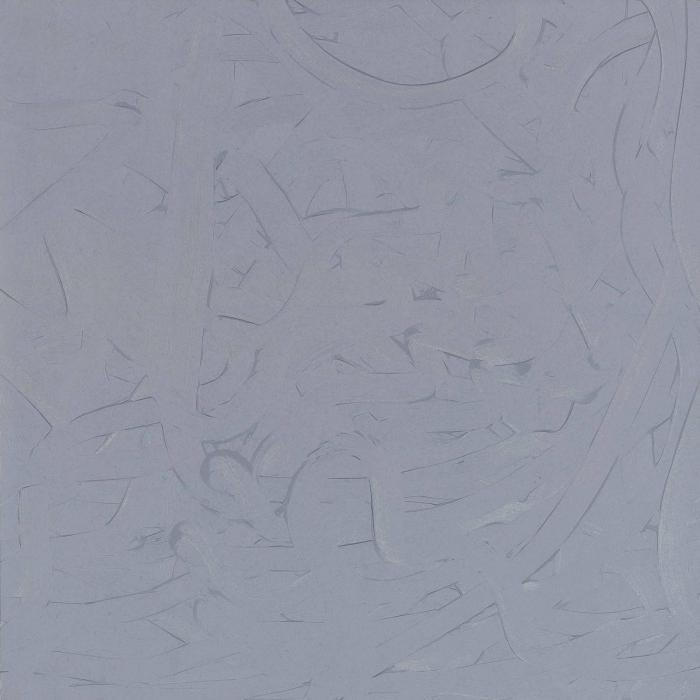 Gerhard Richter-Vermalung (Grau) / Inpainting (Grey) / Fingermalereien (Finger Painting) / Strukturale Komposition-1971