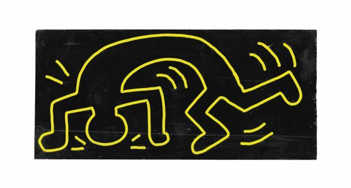 Keith Haring-Keith Haring - Untitled (From the Totem Series)-1983