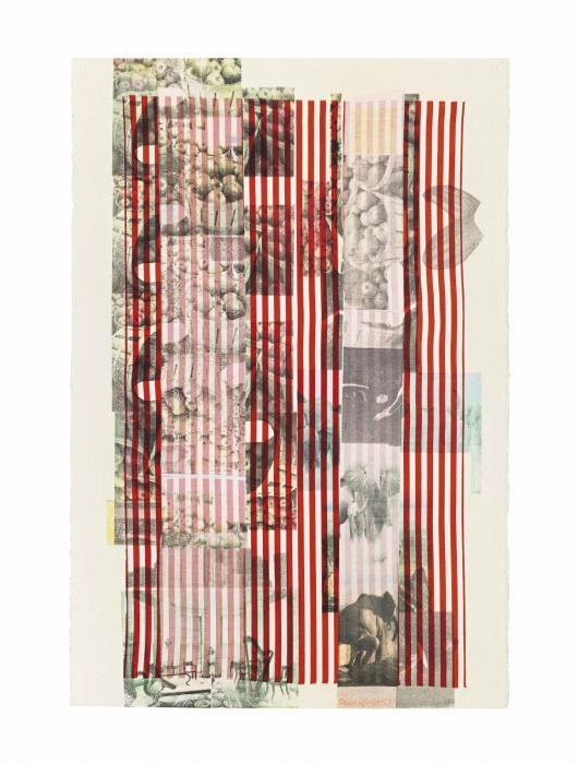 Robert Rauschenberg-Robert Rauschenberg - Acrobat (Slide)-1979