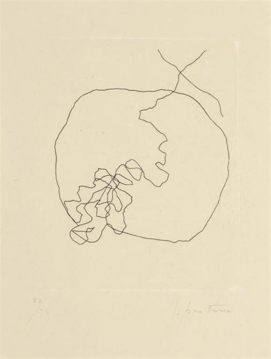 Lucio Fontana-From lEpee dans leau-1962